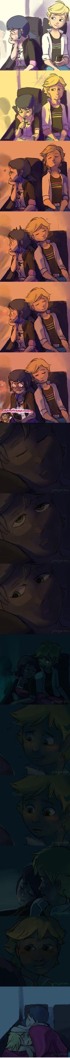 Adrien/Cat Noir ♥ Marinette/Ladybug