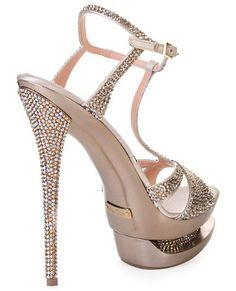 Shop Women's Gianmarco Lorenzi Sandal heels on Lyst. Track over 125 Gianmarco Lorenzi Sandal heels for stock and sale updates. High Shoes, Hot High Heels, Sexy Heels, Nice Heels, Prom Heels, Bling Heels, Rhinestone Sandals, Marchesa, Lilly Pulitzer