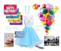 """""""Happy 17th Birthday Shannon!"""" by coolmommy44 ❤ liked on Polyvore featuring art"""