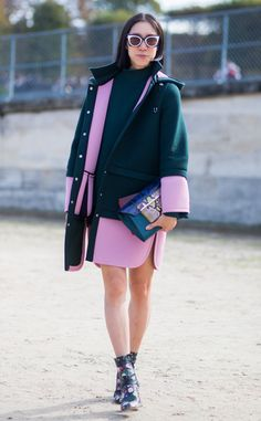 Eva Chen from Street Style at Paris Fashion Week Spring 2016 | E! Online
