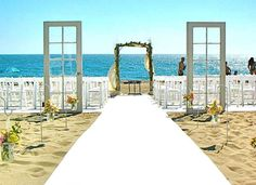 The Perfect Beach Wedding Venue in Southern California