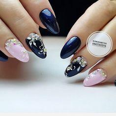 #коррекцияногтей #акриловыеногти #дизайнногтейвручную #ногтиАстана #nailsbynurmukhametovaanastassiya #жемчужинаnails