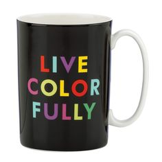 kate spade new york Live Colorfully Mug!  Fine gift to everyone!)--->>http://rstyle.me/~3s0W2