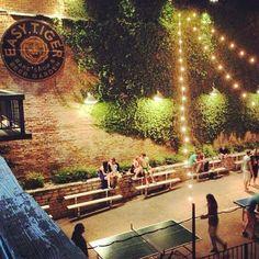 Hidden Gardens in Houston - Underground Beer Garden.
