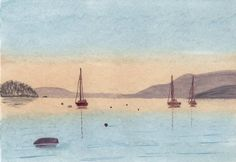paintings of lakes | ... watercolour paintings the lakes feed from watercolour paintings