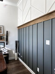 Home Renovation, Home Remodeling, Diy Casa, Accent Wall Bedroom, Accent Walls In Living Room, Living Rooms, Board And Batten, Wood Accents, Wood Accent Walls