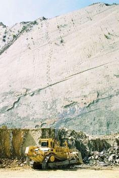 5000 empreintes de pas de dinosaures sur le flanc d'une falaise - La boite verte