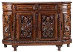 "63"" Ambella Home Chandler Crossing Petite Sideboard - 08065-630-001 #LivingroomCabinets #Livingroom #Cabinets"