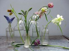 These delicate little bells are perfect for small scale arrangements.