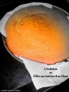Découvrez la recette l'ardéchois, gâteau aux marrons & au rhum sur cuisineactuelle.fr.