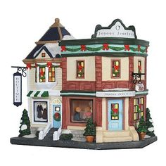 st nicholas square village collection botiquejeweler christmas in the city christmas houses