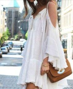 Beautiful bohemian dress! #dress #boho #bohodress #outfits