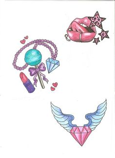Girly Stuff by BloodyBlackPearl.deviantart.com on @deviantART