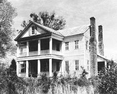 J.-Wesley-Brooks-House(Scotch Cross Plantation), 1815 -- Greenwood County, South Carolina