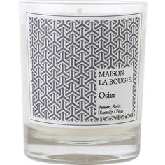 MAISON LA BOUGIE Osier scented candle (5105 RSD) ❤ liked on Polyvore featuring home, home decor, candles & candleholders, fillers, candles, heart shaped candles, smoke scented candle, fragrance candles, inspirational home decor and smoke candles