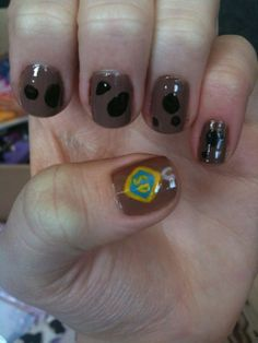 Scooby Doo Nails Sister You Should Paint Yours Like This Kait