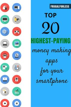 Looking to make money online? Here are the top 20 money making apps to earn money directly from your phone. If you're looking for an easy way to make money online, these apps can definitely give you a head start. The great thing about these apps is that they're 100% free, and some even give you a nice sign-up bonus just for registering as a new user. That's essentially free cash right when you get started.