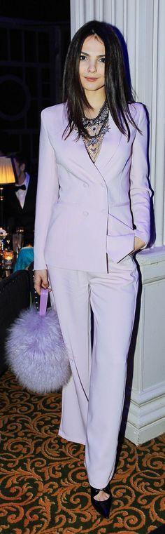 Connecticut Millionairess...........on the town  Lavender Chic Suit by The Golden Diamonds