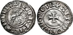 Hiberno-Norse. Sihtric III Olafsson. 995-1036. AR Penny (19mm, 1.11 g, 6h). Phase I coinage, Short Cross type. Eoferwic (York) mint signature; 'Arnthorr,' moneyer. Struck circa 1010-1016. + ZIIITR F RE+ DΓLI, diademed and draped bust left / + ARNDORR M-O EOFR, short cross pattée. O'S –; SCBI –; D&F 19; SCBC 6118. VF, peck marks. Rare – unlisted 'moneyer' for type #viking #ireland #irish #silver #coin