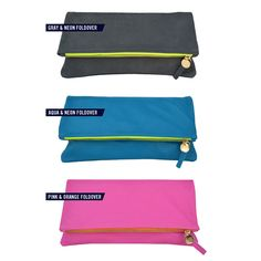 fold over clutch in the best colors.  might just have to be my fall splurge