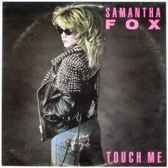 samantha fox studded jacket