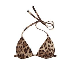 Dolce & Gabbana Leopard Bikini Top XS S 0 2 34 EUC - took it out for a shoot, has been in storage. There is a small smudge on the back hardware piece (please see pictures) Dolce & Gabbana Swim Bikinis