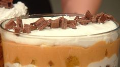 Katie Lee's Pumpkin Toffee Trifle from Rachel Ray Show