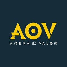 AOV Arena Of Valor Flat logo Designs