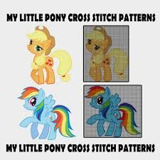Image result for my little pony friendship is magic cross stitch pattern
