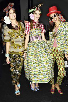 Stella Jean SS14 Fashion Show Milan Backstage | Sonny Vandevelde