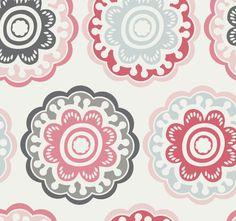 Zinnia Wallpaper - modern - wallpaper - DwellStudio