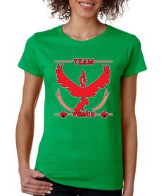 Team red Valor womens t-shirt