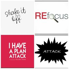 Roadblocks we all have them but you must find ways to get around them. First shake it off, then refocus your goals, have a plan of attack and then finally attack.