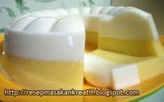 Puding Jagung Lapis Susu | Resep Masakan Indonesia (Indonesian Food Recipes)