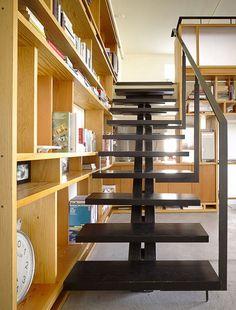 Losa Loft / Aidlin Darling Design #stairs