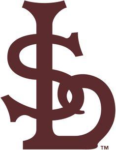 St. Louis Browns Primary Logo (1911) - An interlocked 'STL' in brown