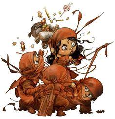 Little Heroes – Baby superheroes by Alberto Varanda (image)