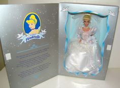 Mattel Barbie Walt Disney's 45th Anniversary Cinderella Wedding Doll 1995 NEW #Mattel #Dolls