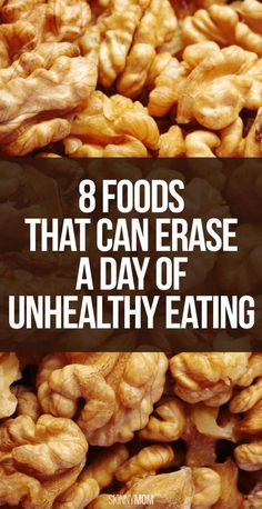8 Foods that Can Erase a Day of Unhealthy Eating! Womanista.com