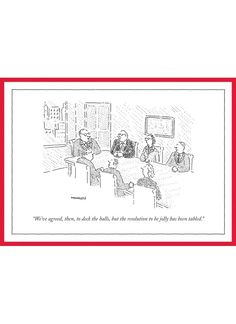 65 best always look on the wry side images on pinterest in 2018 new yorker cartoon christmas card weve agreed then m4hsunfo
