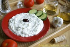 Grilling Recipes Rarely have I eaten a real Zaziki in Germany, unless of course … Greek Recipes, Dip Recipes, Grilling Recipes, Sauce Recipes, Healthy Dinner Recipes, Party Recipes, Vegetarian Recipes, Chutneys, Greek Sauce