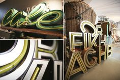 vintage letters @ ply
