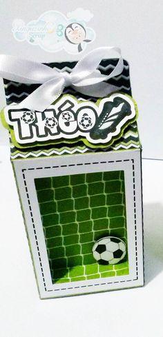 Caixa Milk- Futebol  Scrap festa, Lembrancinha personalizada, caixa milk, caixa…