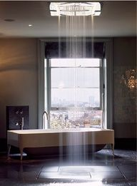 Bathroom | Open Waterfall Shower | Tub