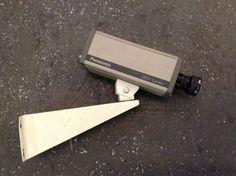 Panasonic CCTV camera, 90s