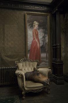 Zeitreise based on John Kirby paintings by Madame Peripetie, via Behance