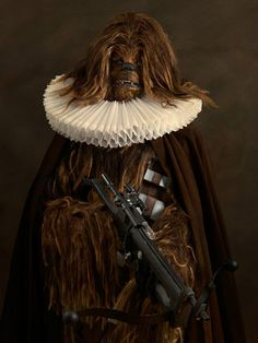 ChewbaccaPhoto: Sacha Goldberger via Sad and Useless