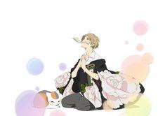 Natsume and the Myriad of Happiness – OWLS May Tour - I drink and watch anime Me Me Me Anime, Anime Guys, Manga Anime, Anime Art, Natsume Takashi, Hotarubi No Mori, Good Anime Series, Thats All Folks, Natsume Yuujinchou