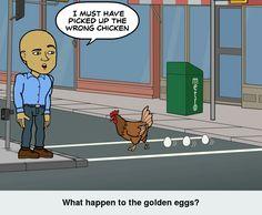 On the hunt for golden eggs #livinglifetothefullest #bitstrips #eyeontheprize