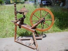 Altes-Spinnrad